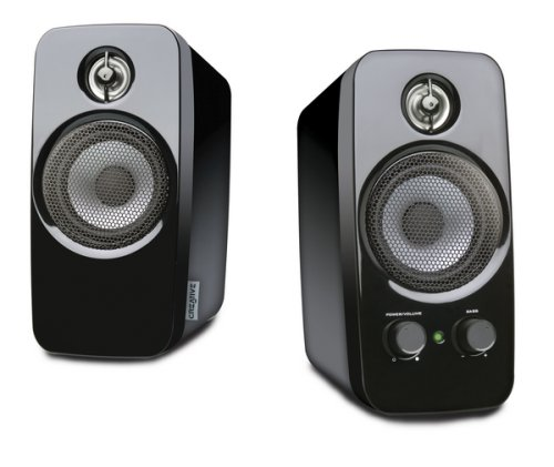 Creative Inspire T10 - Altavoces de ordenador (3.5 mm), color negro